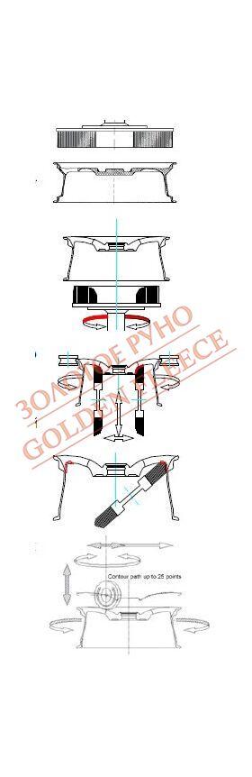 Станки для удаления грата и полировки колёсных дисков Loeser FE